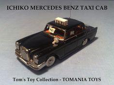 **** Tom's Toy World - TomaniaToys ****: MERCEDES MODEL CARS Mercedes Models, Mercedes Benz, Tin Toys, Buick, Taxi, Diecast, Japan, Vintage, Vintage Comics