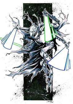 Star Wars - General Grievous by Iban Coello