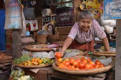 Markt Bagan Myanmar 2016 - Rowan Olierook -