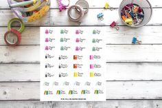 School Organization Planner Stickers 35 by ForAllSeasonsDesigns