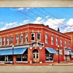 The legendary Blue Belle Saloon. Photo by Tiffany Bohrer.