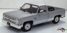 Chevrolet C-10 Silverado 1986 1/43 Custom Hot Wheels, Industrial, Toy Trucks, Diecast, Chevrolet, Cars, Miniature Crafts, Industrial Music, Vehicles