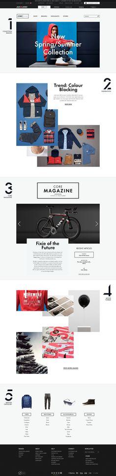 CORE by Jack & Jones — Designed by Anders Højland Mikkelsen @Anders Søndergaard