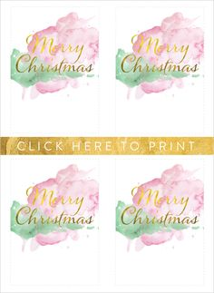 Free Merry Christmas Gift Cards  http://www.weddingchicks.com/2014/12/10/free-holiday-gift-tags/