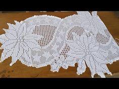 Filet Crochet, Crochet Doilies, Crochet Thread Patterns, Eid, Make It Yourself, Rose, Stitches, Crochet Table Runner, Crochet Baby Bikini