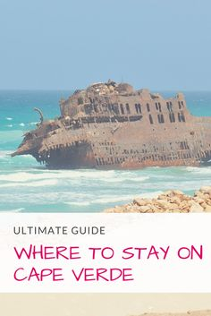 Fancy a holiday on a less known destination? What about the sandy beaches of Cape Verde or its spectacular hiking trails of Santo Antao island? Read about the best place to stay in Cape Verde for beach vacation, trekking, water sports and volcanoes. #capeverde #caboverde #beach #holiday