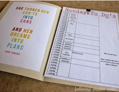 Achieving Creative Order: Daily To Do Lists and Folders (& a free printable)