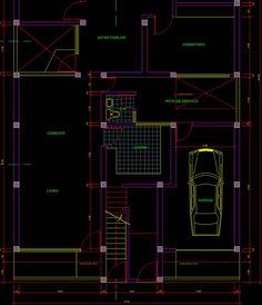 Planos de casa en AutoCAD listos para usar