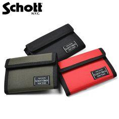 【楽天市場】Schott ショット 3169005 ナイロン イージー ワレット:ミリタリーセレクトショップWIP