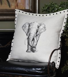 Square By Design® Studded Flange Pillow