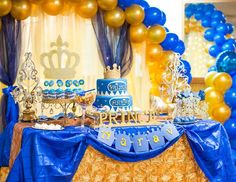 "Prince / Birthday ""Royal birthday"" - Decoration For Home Prince Birthday Theme, King Birthday, Baby Boy Birthday, Boy Birthday Parties, Birthday Party Decorations, Birthday Ideas, Little Prince Party, Royal Party, First Birthdays"