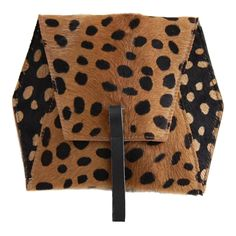 Leopard Hex Crossbody Bag