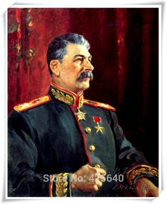 stalin portrait painting - Google Search