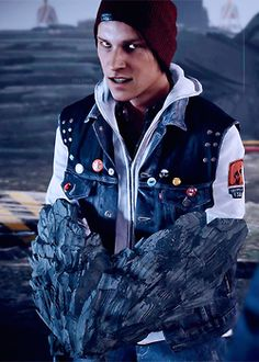 Delsin Rowe >wo Well someone sure looks upset, haha -Will