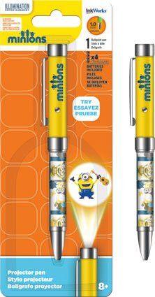 Flat Pencil Case Despicable Me // MINIONS Ballpens 3 pk School // Stationery