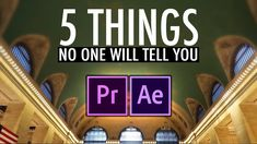 5 Things Nobody Will Tell You About Video Editing (Adobe Premiere Pro CC Tutorial) Adobe After Effects Tutorials, Effects Photoshop, Photoshop Brushes, Photoshop Actions, Video Effekte, Video Film, Adobe Premiere Pro, Motion Design, Video Editing