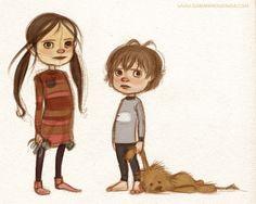 Sarah Mensinga, love this sketch!
