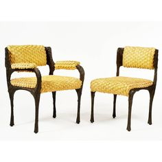 Outstanding Set of Eight Signed Paul Evans Chairs, circa 1974 2