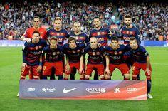 EQUIPOS DE FÚTBOL: F. C. BARCELONA 2015-16 contra Valencia