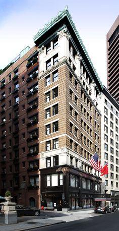 Voted Boston's #1 Hotel, Travel & Leisure Magazine