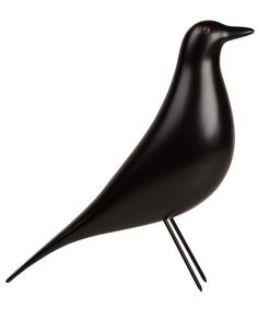 This bird sculpture is based on the sculptural ornaments collected by legendary designers Charles and Ray Eames. The original bird in question has resided at the couple's Eames House for over fifty years.