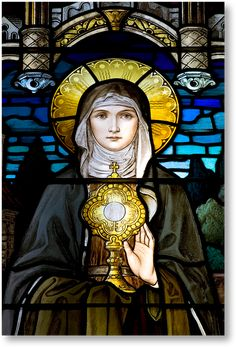 Saint Clare of Assisi, founder of the Poor Claires