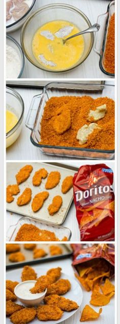 Dorito crusted anything sounds absolutely delicious!