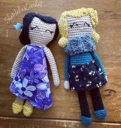 Crochet pattern for rag doll Crochet Dolls Free Patterns, Crochet Doll Pattern, Doll Patterns, Free Crochet, Crochet Mermaid, Yarn Tail, Single Crochet Stitch, Doll Tutorial, Yarn Crafts