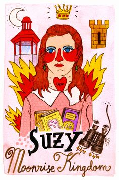 Ricardo Cavolo, 'Moonrise Kingdom: Suzy'.