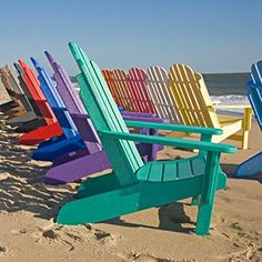 Siesta Casual Living BayFront Shoreline Adirondack Chair, Pink, Recycled Plastic, 31W x 34D x 36H inches