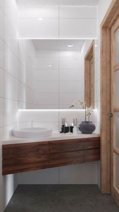 Here are the Small Scandinavian Bathroom Design Ideas. This article about Small Scandinavian Bathroom Design Ideas was posted under the … Apartment Interior Design, Bathroom Interior, Small Space Interior Design, Scandinavian Bathroom Design Ideas, Modern Scandinavian Interior, Scandinavian Bedroom, Modern Interiors, Lavabo D Angle, Ideas Baños