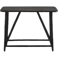 Arboria Console Table in Distressed Black design by Currey & Company ($1,120) ❤ liked on Polyvore featuring home, furniture, tables, accent tables, consoles, cement table, outside furniture, outdoor furniture, outside table and concrete outdoor furniture