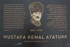 Ataturk's words on the futility of war, in memory of the Battle of Galipoli's 100th anniversary.