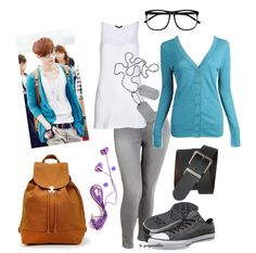 Lay inspired outfit exo m