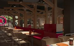 Foster's Hollywood resturant by Stone Designs, Madrid (Spain) 2010 #FostersHollywood #StoneDesigns