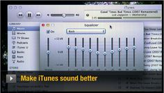 Learn some quick and easy ways to squeeze better audio quality from Apple's iTunes music software. http://cnet.co/NXOQEE