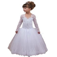 CoCoGirls Lace Long Sleeve Flower Girl Dresses First Comm... https://www.amazon.com/dp/B01KDHDYMK/ref=cm_sw_r_pi_dp_x_ic54xbH43KFT2