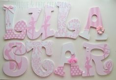 TuTu rosa y blanco linda bailarina temática por KraftinMommy