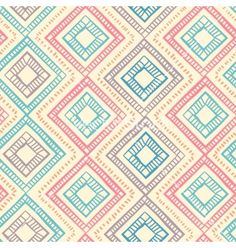 Tribal vintage ethnic seamless geometric pattern vector by transia on VectorStock®