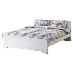 ASKVOLL Low-Bedpost Bed - IKEA | Bedroom