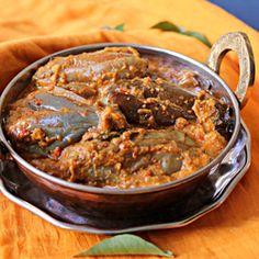 baingan ka salan  eggplant curry