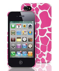 Take a look at this Pink Giraffe Case for iPhone 4/4S by Merkury Innovations on #zulily today!