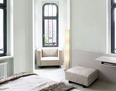 HOTEL: lux 11, berlin. DESIGN:1+1=1 claudio silvestrin giuliana salma architects and planners.