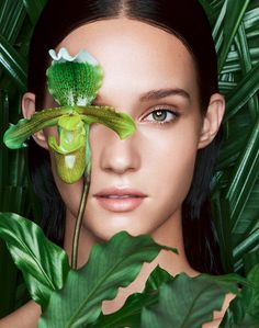 FLORIAN SOMMET · MADAME BEAUTY // Florian Sommet shot a new beauty series for the german magazine, Madame. It is about latest scientific awareness in care cosmetics and new beauty products that are out of plants.