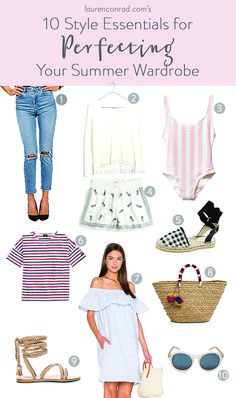 Don t miss our summer style guide on LaurenConrad.com Wardrobe Basics fe062a00db6a