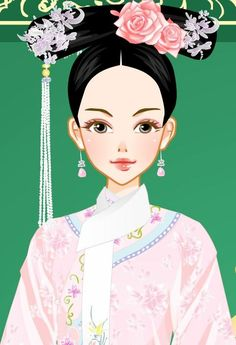 Chinese Marriage, Creative Pictures, Qing Dynasty, Cheongsam, Headdress, Traditional Outfits, Chibi, Costumes, Anime