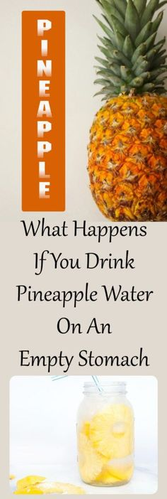 What Happens If You Drink Pineapple Water On An Empty Stomach #health #beauty #hair #drink #diy #stomach #water #fitness