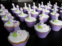 Baby Girl Girl Cupcakes, Desserts, Baby, Food, Tailgate Desserts, Deserts, Essen, Postres, Meals