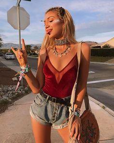 3f96d499e30 What to wear to Coachella 43 outfit ideas. Music FestivalsMusic Festival  FashionMusic ...