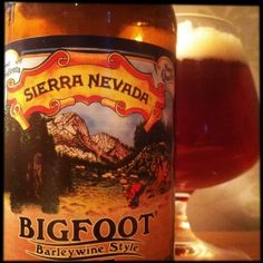 Sierra Nevada Bigfoot Beer only comes out in Feb? So maybe for Vday
